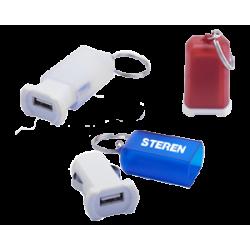 LLAVERO Y CARGADOR USB FUZION