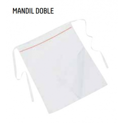 MANDIL DOBLE 4 CARAS