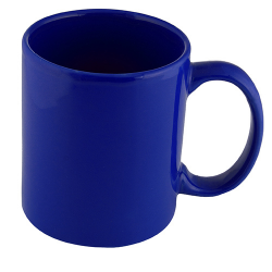 TAZA ESPIRIT COLOR AZUL REY