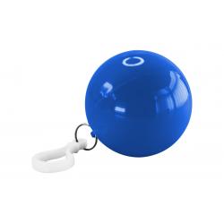 IMPERMEABLE PLAS C/EST/ LLAVERO BALL AZU