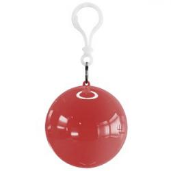 IMPERMEABLE PLAS C/EST/ LLAVERO BALL ROJ