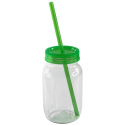 VASO VINTAGE JAR C/TAPA POPOTE 520ML  VE