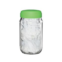 Tarro lemon + tapa de silicón + 340 cotonetes