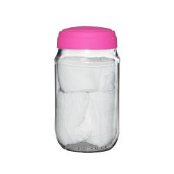 Tarro lemon + tapa de silicón + 90 gasas