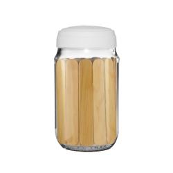 Tarro lemon+ tapa silicón + 80 abatelenguas madera