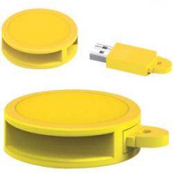USB 8GB REDONDO PVC AM